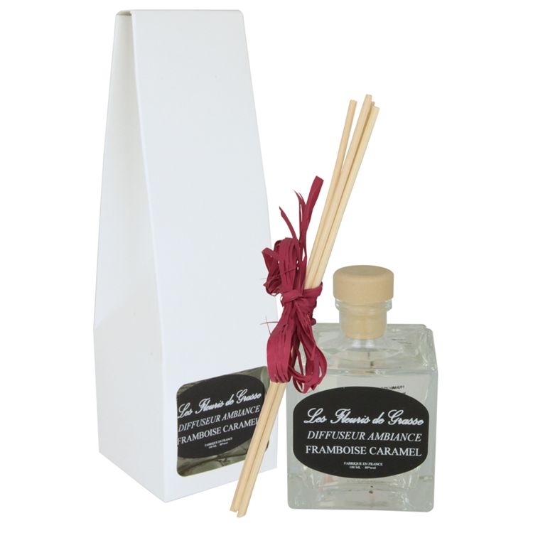 DIFFUSEUR D AMBIANCE MAISON - FRAMBOISE CARAMEL  100 ml