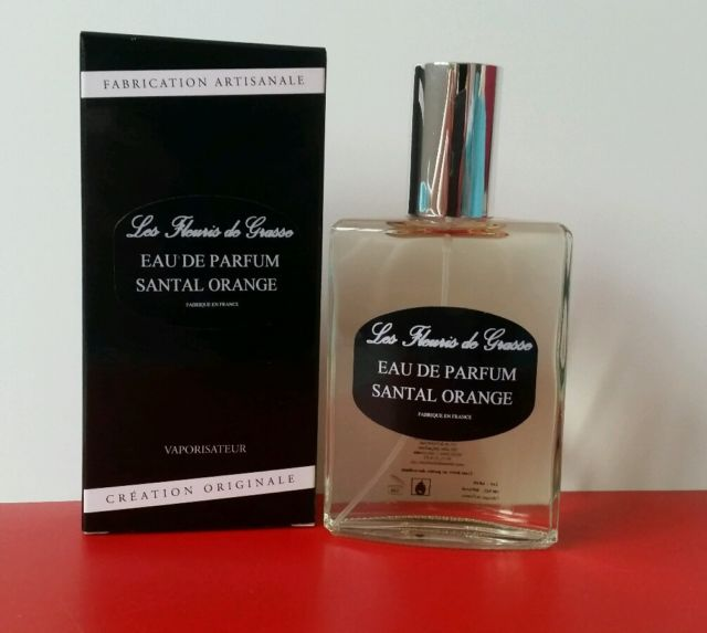 EAU DE PARFUM HOMME SANTAL-ORANGE  100 ml